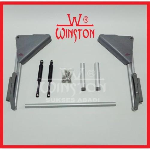 Foto Produk Engsel Lift Up & Down Winston HS 302 for Cabinet Panel 45-60cm x 50cm dari WINSTON-OK OFFICIAL STORE