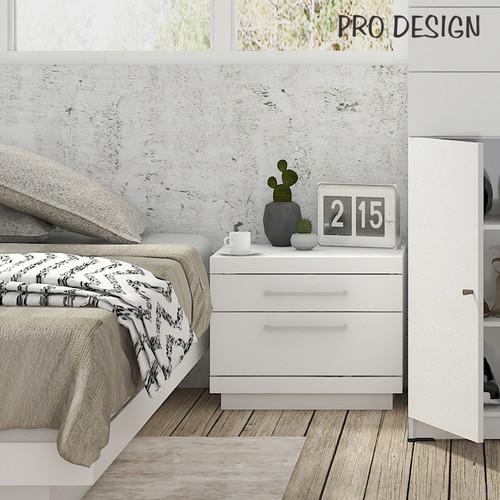 Foto Produk Pro Design Patron Meja Samping Tempat Tidur - White Gpo dari Pro Design