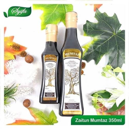 Foto Produk Minyak Zaitun Mumtaz 350ml-Extra Virgin-Bukan Mizar-Bukan Al Amir-Buka dari Herbal Bogor Terbaik
