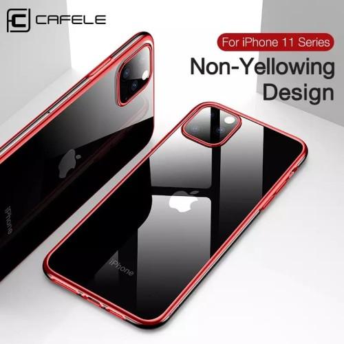 Foto Produk CAFELE ORIGINAL NEWEST PLATING CASE FOR IPHONE 11/11 PRO/11 PRO MAX dari Black_ID