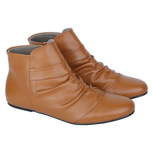 Foto Produk Catenzo - Sepatu Boots Kulit Wanita YE 112 - 36 dari Catenzo Official Shop