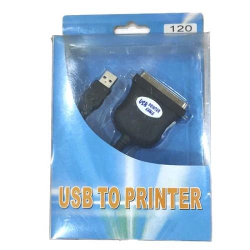 Foto Produk Kabel USB to Paralel Printer dari Acckomputer