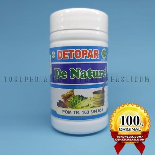 Foto Produk Obat Paru Paru AMPUH Detopar De Nature ASLI Herbal Official DENATURE dari De Nature Asli