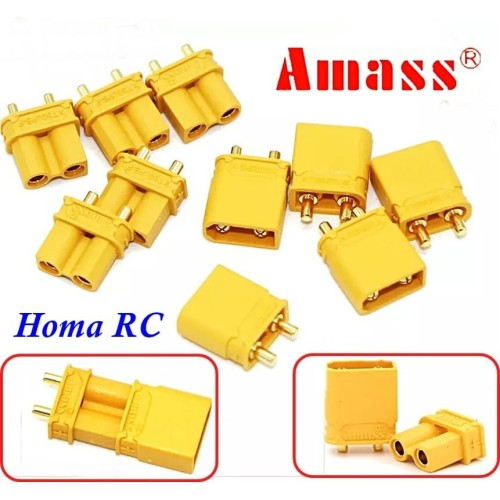 Foto Produk Konektor XT30 UPB 2 Mm Plug dari Homa RC