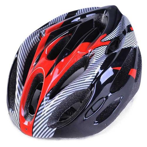 Foto Produk Helm Sepeda Universal Gunung Mtb Anak Lipat Listrik BMX Ringan EPS PVC - Merah dari lbagstore