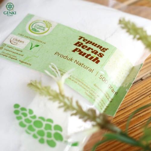 Foto Produk Tepung Beras Putih Lingkar Organik - 500 g dari Genki Plant