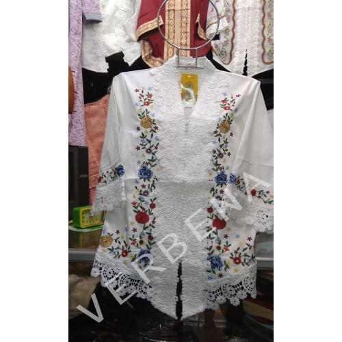 Foto Produk Semi Kebaya Baju Encim Alexuez Motif Kembang (XXXL to XXXXXL Size) dari Verbena