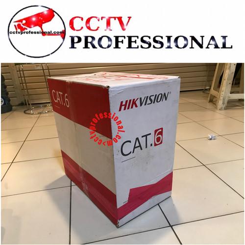Foto Produk KABEL CAT6 HIKVISION CABLE METERAN dari cctv professional