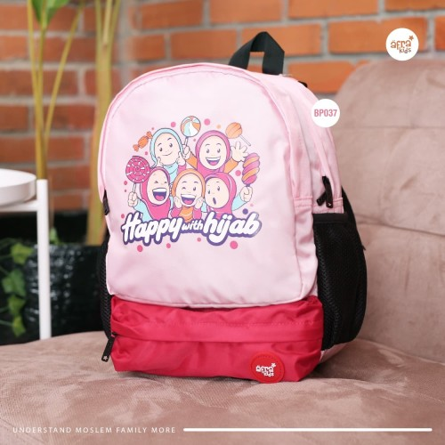 Foto Produk Tas Sekolah Anak Afrakids - Backpack Anak - Girl Series dari FQ Muslim Store