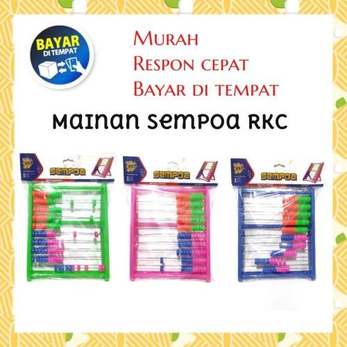 Foto Produk Sempoa Plastik RKC | Alat Hitung Sempoa | Simpoa dari Babyboo Mlg