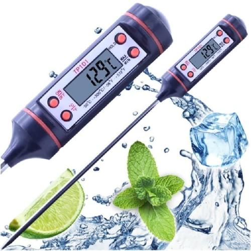 Foto Produk Dapur Thermometer TP101 Digital Termometer Masak Suhu Air Masakan Obat dari MT Elektronik