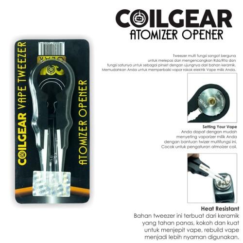 Foto Produk Authentic Coil Gear Vape Tweezer (Pembuka Atomizer) Vaping Vapor Vape dari VapeOi