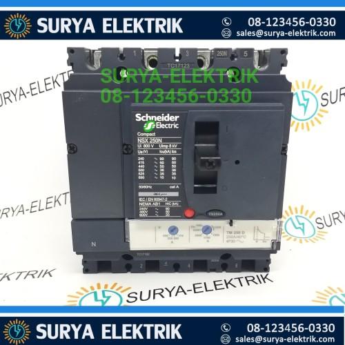 Foto Produk MCCB SCHNEIDER NS250N NSX250N NSX 250A 250 A AMPER 4P 4POLE LV431840 dari SURYA-ELEKTRIK