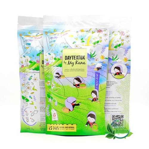 Foto Produk Day Teatox by My Kana - Slimming Tea 100% Original dari Mall Herbal Indonesia