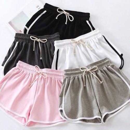 Foto Produk LN01 - Size L & XL Celana Pendek Wanita MUNIKO Hot Pants Wanita MUNIKO - Biru, M dari SuperStoreOnlineShop
