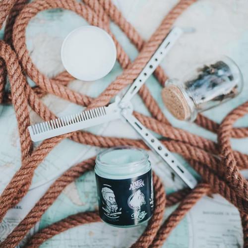 Foto Produk Aventura Wolf Noir Clay Pomade - Dengan Sensasi Dingin Dikepala. dari Pomando Premium Group