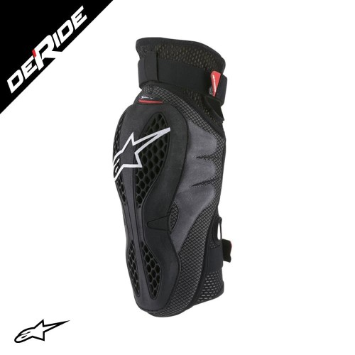 Foto Produk Alpinestars SEQUENCE KNEE PROTECTOR - BLACK RED dari DeRide Official Store