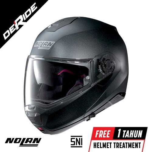 Foto Produk Nolan N100-5 SPECIAL N-COM Col. 009 (BLACK GRAPHITE) dari DeRide Official Store
