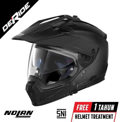 Foto Produk Nolan N70-2 X SPECIAL N-COM Col. 009 (BLACK GRAPHITE) dari DeRide Official Store