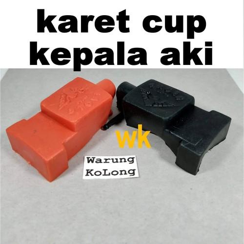 Foto Produk KARET CUP TUTUP KEPALA AKI KLAM CLAMP TERMINAL ACCU SET BAGUS MURAH dari Warung KoLong 542
