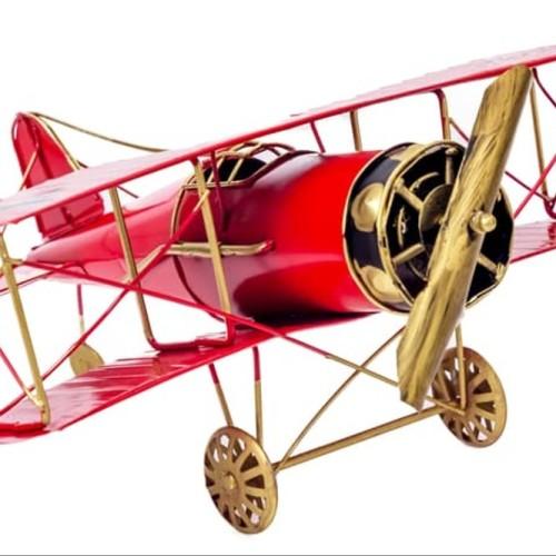Foto Produk Mapor | Hiasan Pajangan Pesawat Koleksi Industrial Vintage Interior dari atmarinishop
