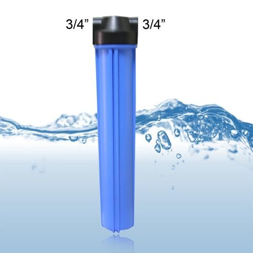 Foto Produk Housing Filter Biru 20 Inch In Out 3-4 part and tools dari atmarinishop
