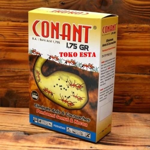 Foto Produk CONANT 500gram racun umpan anti basmi kecoa semut sparepart dari atmarinishop