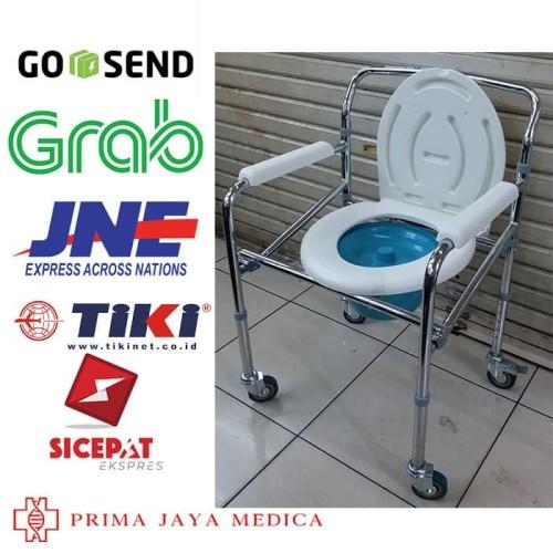 Foto Produk Commode Chair Dengan Roda Sella. Kursi BAB & Mandi Sella. dari Prima Jaya Medica