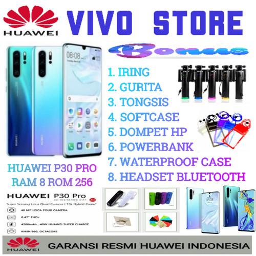 Foto Produk HUAWEI P30 PRO RAM 8/256 GARANSI RESMI HUAWEI INDONESIA - demo tanpa dus dari VIVO ST0RE