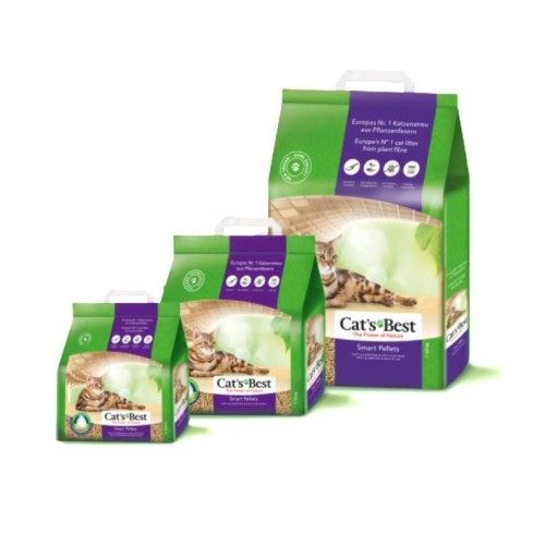 Foto Produk Cats Best Smart Pellet 5kg Litter Bedding Rabbit Guinea Pig Hamster dari Hime petshop