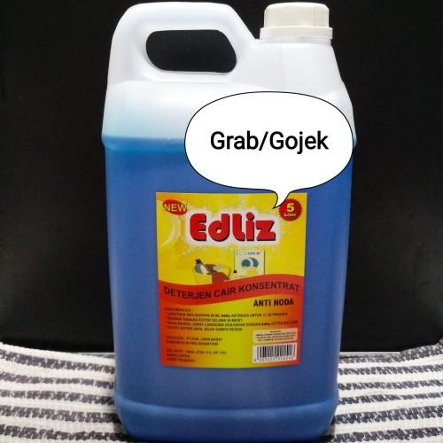 Foto Produk Detergent Laundry 5 Liter EdLiz - Deterjen Cair dari NyonyaQ