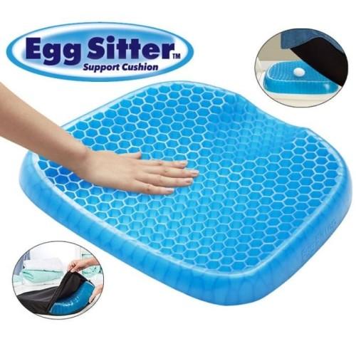Foto Produk Egg Sitter Alas Duduk Silikon Gel Bantal Jok Kursi Mobil Lantai Empuk dari lbagstore