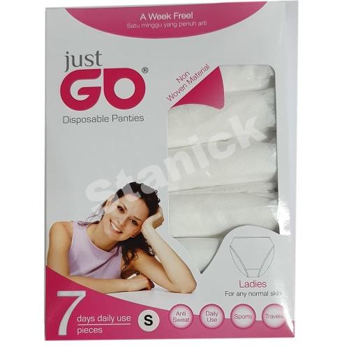 Foto Produk Celana Kertas Just Go Wanita S/M/L/XL/XXL Disposable - M dari Stanick