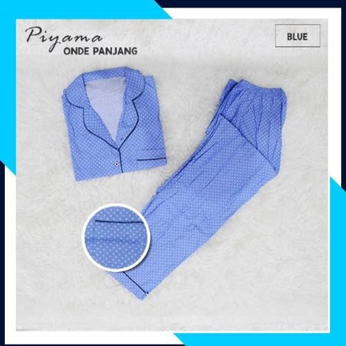 Foto Produk 100% ORI! BAJU TIDUR WANITA POLKA C PJNG BLUE / LUCU - PALING LAKU dari bajutidur71