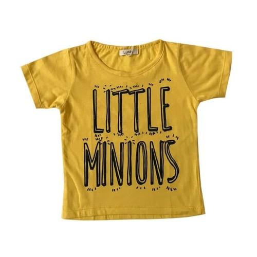 Foto Produk Lumik Yellow Little Minion Tee Special Store - 3-4 tahun, Kuning dari Lumik Baby Shop