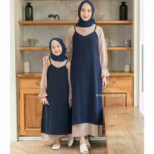 Foto Produk BAJU GAMIS IBU DAN ANAK ROSALIN COUPLE dari sevgishop.online
