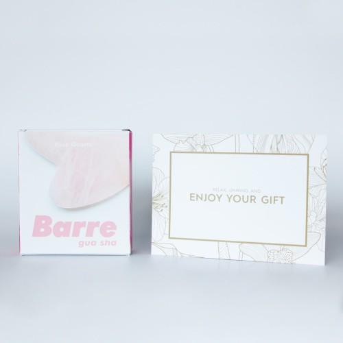 Foto Produk Barre Gua Sha Rose Quartz + Face Acupressure Service (Jakarta Only) dari Barre Roller