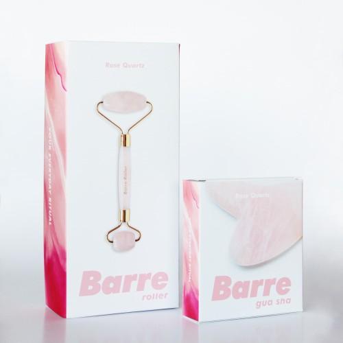 Foto Produk Barre Roller x Barre Gua Sha in Rose Quartz dari Barre Roller