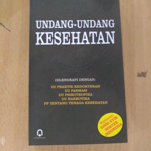 Foto Produk Buku Undang Undang Kesehatan - Pustaka Pelajar dari Pustaka Pelajar Official