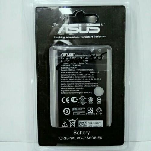 Foto Produk Batt batre asus zenfone 2 laser ze550kl zenfone Selfie 55 ZD551K dari yani77 shop