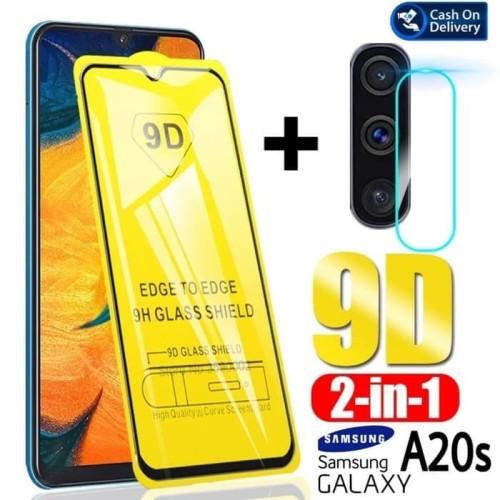 Foto Produk Tempered Glass Samsung A20s 2019 Anti Gores Layar dan Kamera Belakang dari AstoriaStore