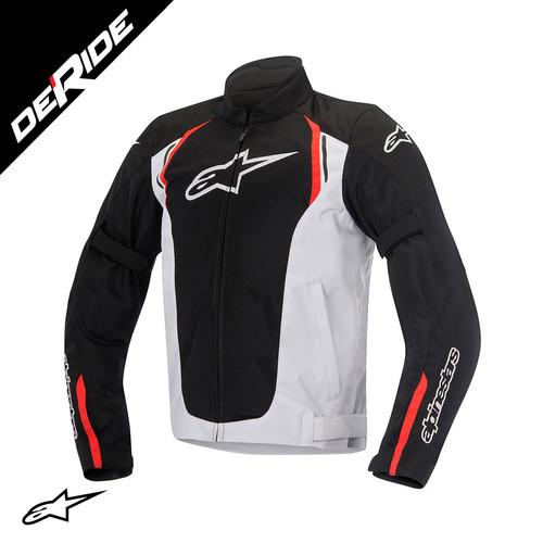 Foto Produk Jaket Alpinestars AST AIR TEXTILE JACKET Riding - BLACK WHITE RED, XL dari DeRide Official Store