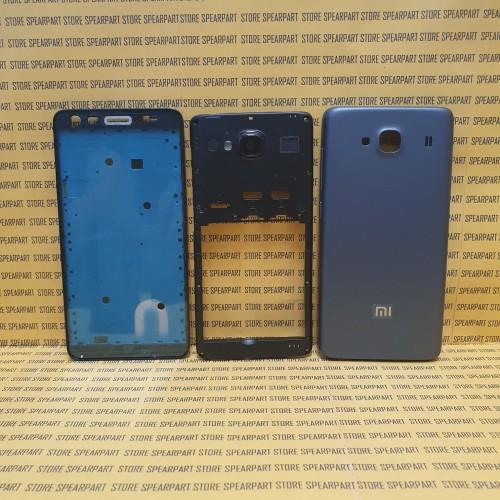 Foto Produk Housing Kesing Back Casing Tulang tengah Xiaomi xiomi Redmi 2 prime 2s dari Store Sperpart