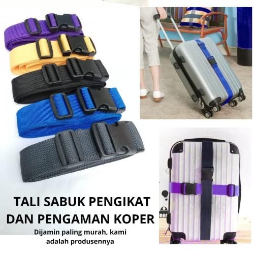 Foto Produk Sabuk Pengaman Koper / Tali Pengikat Koper / Luggage Strap dari rondep olshop