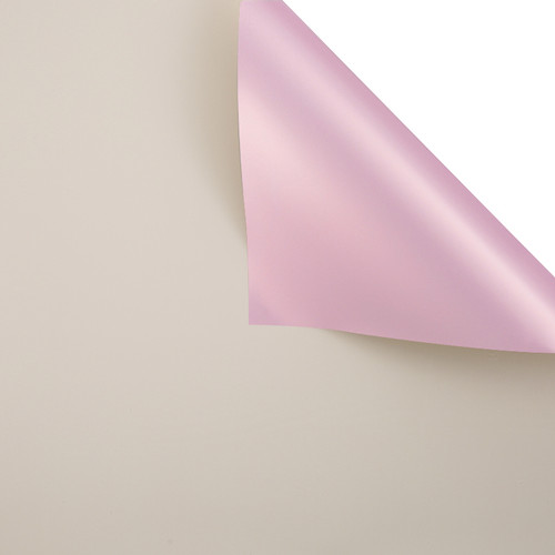 Foto Produk FLOWER WRAPPING BI COLOR ROSE GOLD CELLOPHANE KERTAS BUNGA (ECER) - Milky Tea dari Dandelion Floral Wrap