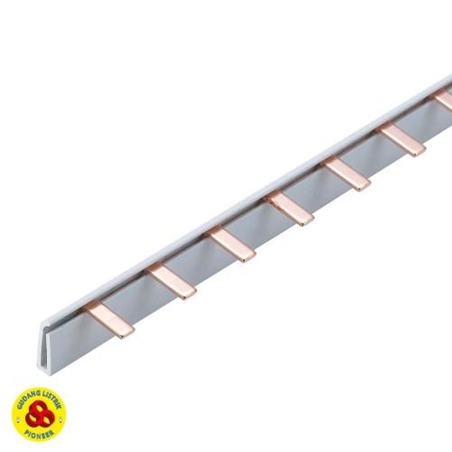 Foto Produk Rel Sisir 1P Busbar Tembaga Jumper MCB 1 Phase dari Gudang Listrik
