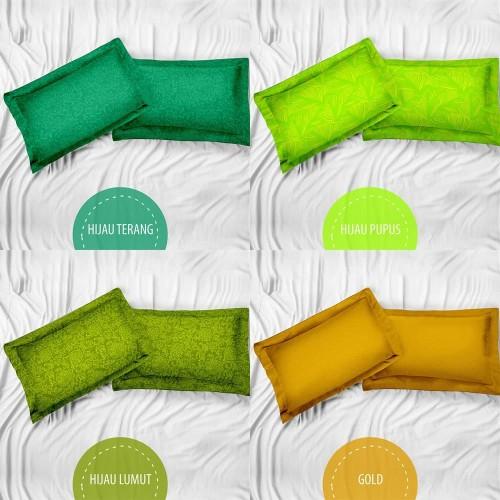 Foto Produk Royals Sarung Bantal + Sarung Bantal Jacquard Emboss - Tosca dari Aneka Textile Official
