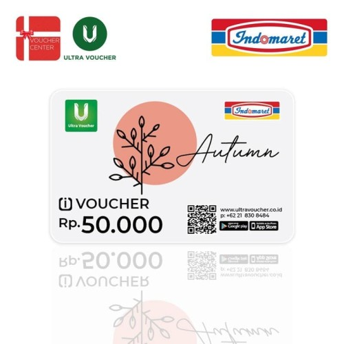 Foto Produk Voucher Indomaret Rp100.000(@50.000) dari Ultra Voucher