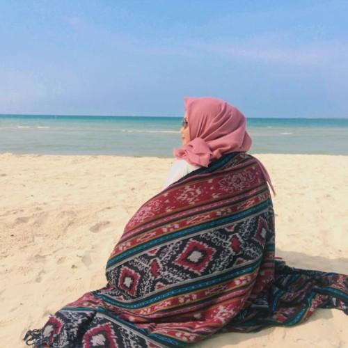 Foto Produk Kain Tenun Blanket Etnik Lombok BLK022 dari ethnicapparelstore
