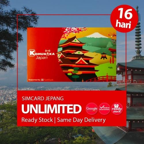 Foto Produk SIMCARD JEPANG 16 HARI 100 GB UNLIMITED | Japan Sim Card Kartu Data - 16 Hari 100 GB dari japantrips